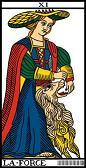 tarot numerologie 11 force