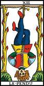 tarot numerologie 12 pendu