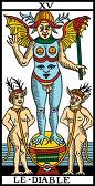 tarot numerologie 15 diable