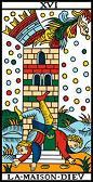 tarot numerologie 16 maisondieu