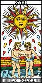 tarot numerologie 19 soleil