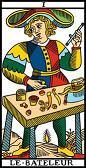 tarot numerologie 1 bateleur