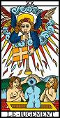tarot numerologie 20 jugement