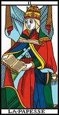 tarot numerologie 2 papesse