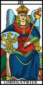 tarot numerologie 3 imperatrice 3 the empress