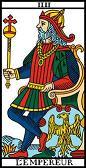 tarot numerologie 4 empereur
