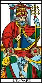 tarot numerologie 5 pape